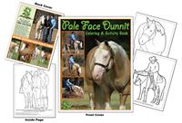 Pale Face Dunnit Coloring Book
