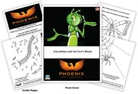 Phoenix Pest Control Coloring and Activity Book