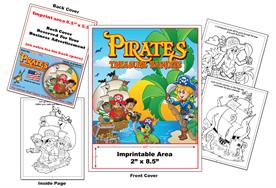 Pirates - Imprintable Coloring & Activity Book