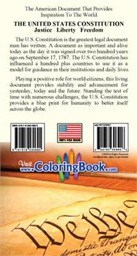 The U.S. Constitution Pocket Guide - Back Cover