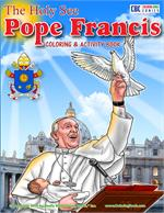 Pope Francis Coloring - Activity Book