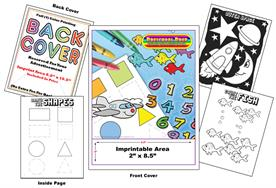 PreSchool Prep Imprintable Coloring & Activity Book