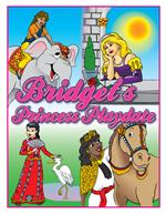 Personalized Princess Playdate Coloring Book (8.5
