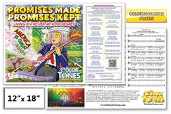 Promises Made Promises Kept Commemorative Poster with Song