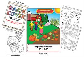 Pumpkin Patch - Imprintable Coloring & Activity Book