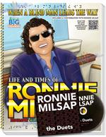 Ronnie Milsap Autobiography Coloring Activity Braille Song Book with CD