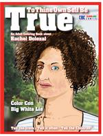Rachel Dolezal Adult Coloring Book