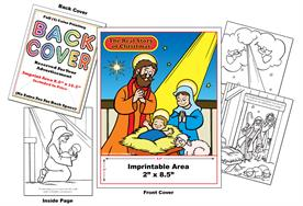 The Real Story of Christmas - Imprintable Coloring Book