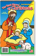 The Real Story Christmas Travel Tablet Coloring Book