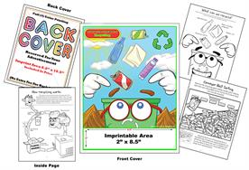 Recycling - Imprintable Coloring Book