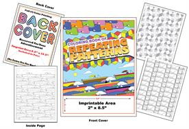 Repeating Patterns - Imprintable Coloring Book