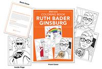 Ruth Bader Ginsburg Coloring Book by sheknows