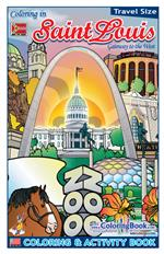 'Coloring in' Saint Louis Digest Coloring and Activity Book