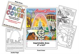 Saint Louis - Imprintable Coloring & Activity Book