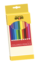 School Smart Colored Pencils 12 Count