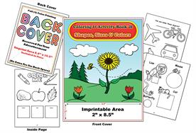 Shapes, Colors and Sizes Imprintable Coloring & Activity Book