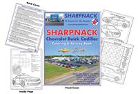 Sharpnack Chevrolet Buick Cadillac Coloring & Activity Book