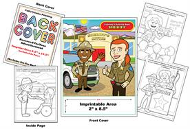 Sheriff - Imprintable Coloring & Activity Book