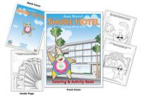 Santa Monica's Shore Hotel Coloring and Activity