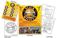 Slick Willey's Oil & Lube Coloring & Activity Book