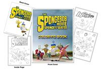 The Spongebob Movie - Sponge Out of Water Coloring Book