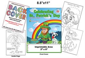 St. Patrick's Day Imprintable Coloring Book