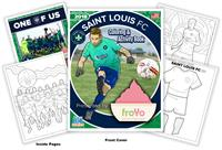 Saint Louis Football Club Coloring and Activity Book