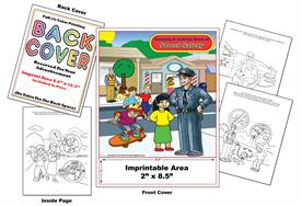 Street Safety - Imprintable Coloring & Activity Book