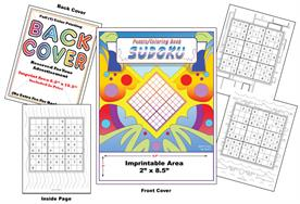 Sudoku - Imprintable Coloring Book