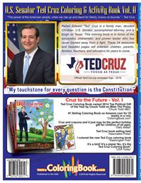 Senator Ted Cruz Coloring Book