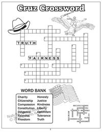 Senator Ted Cruz Crossword