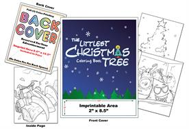 The Littlest Christmas Tree - Imprintable Coloring and Activity Book