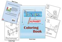 The Technical Alphabet Coloring Book