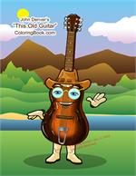 John Denver - This Old Guitar Coloring and Activity Book