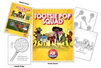 Tootsie Pop Squad Coloring Book