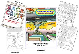 Tornado Safety - Imprintable Coloring and Activity Book