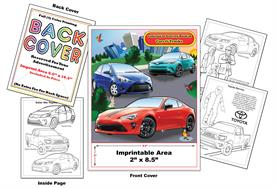 Toyota Imprintable Coloring & Activity Book