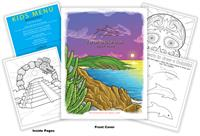 Twin Dolphin Golf Club Coloring Book