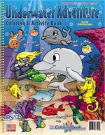 Underwater Adventure Power Panel Coloring Book