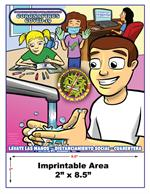 Understanding COVID-19 for kids - Spanish - Imprintable Coloring Book