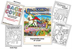 Unicorns - Imprintable Coloring & Activity Book