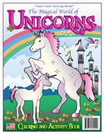 Magical World of Unicorns Coloring Book