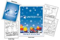 United Road Coloring & Activity Book