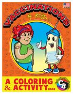Vaccinations for Kids Coloring Activity Book