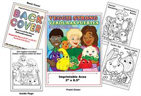 Veggie Strong - Imprintable Coloring & Activity Book