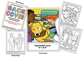 Veterinarian - Imprintable Coloring & Activity Book