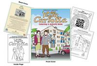 Hollywood's Legendary Villa Carlotta Coloring and Activity