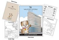 Waldorf Astoria Hotel - Beverly Hills Custom Coloring Book