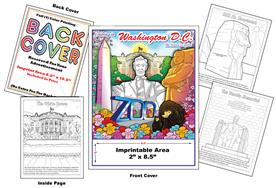 Washington DC - Imprintable Coloring Book