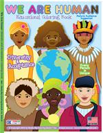 We Are Human Diversity & Acceptance Coloring Book